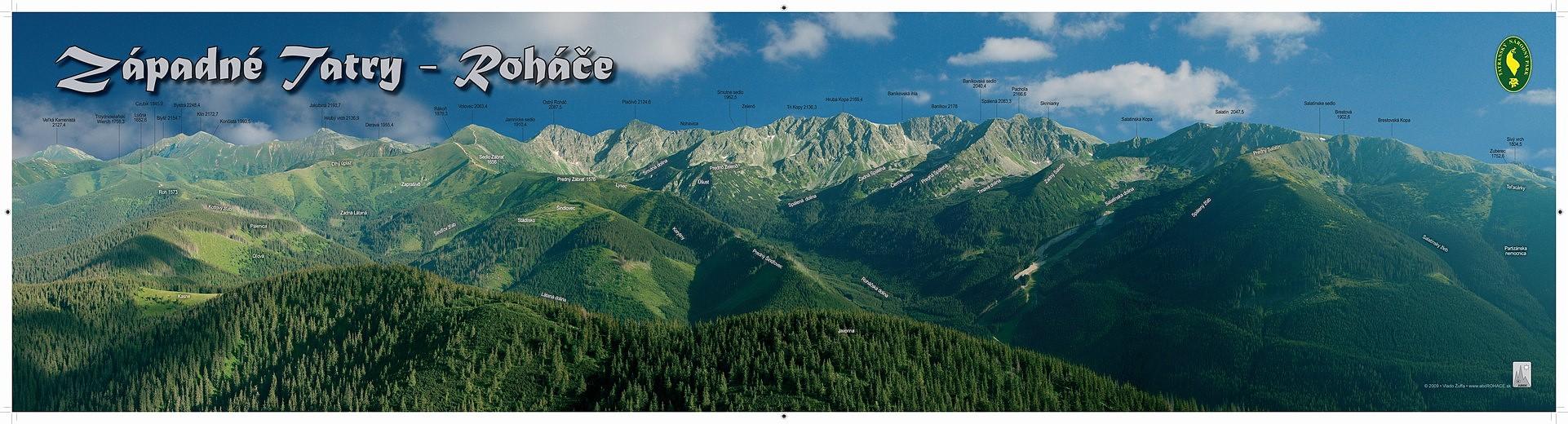 Panorama leto 98x25